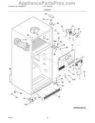 kelvinator refrigerator wiring diagram block and schematic diagrams \u2022 Norcold Refrigerator Wiring Diagram frigidaire 241854301 evaporator fan motor appliancepartspros com rh appliancepartspros com kelvinator refrigerator circuit diagram kelvinator fridge