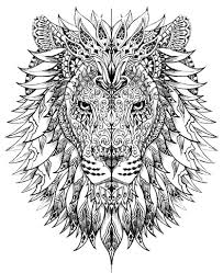 Animal Coloring Pages For Adults Printable At Getdrawingscom Free