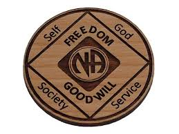 Laser Engraved Narcotics Anonymous Medallion | NA Welcome Coin ...