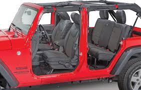 bartact mil spec super rear seat cover for 11 12 jeep wrangler unlimited jk 4 door quadratec