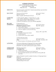 Resume Writing Format Pelosleclaire Com