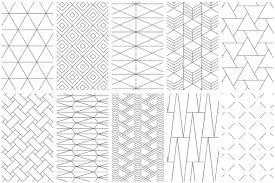 Simple Patterns Adorable Simple Line Geometric Patterns Graphics YouWorkForThem