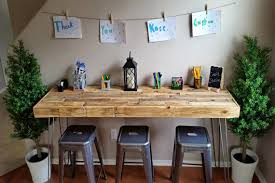 office work tables. Brilliant Office Reclaimed Wood Modern Custom Craft Table Art Bar Office Work Within Kids  Remodel 5 And Tables N
