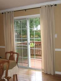 sliding door curtains patio curtain elegant for throughout window treatments doors designs 19