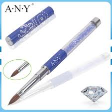 Any Nail Art Crystal Extension Nails Building Design Rhinestone ...