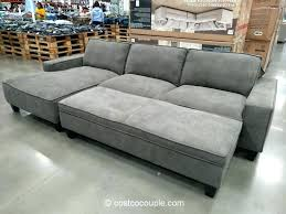 costco sleeper sofa grey sectional