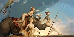 michael parkes prints and posters a brief look the classic fantasy of evil tender large michael parkes