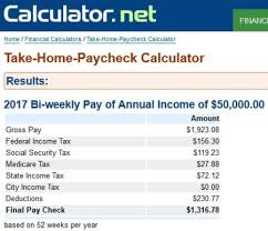 Salary Calculator 100 Free Salary Calculator Websites with State Tax Calculations 79