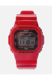 mens casio diffusion g lide surf digital watch men s red