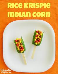 thanksgiving rice krispie treats. Interesting Thanksgiving We Created These Fun Thanksgiving Indian Corn Rice Krispies Treats  With Krispie S