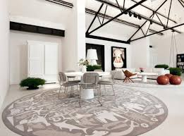 large round area rugs living room elegant fish patterns modern ideas pictures for