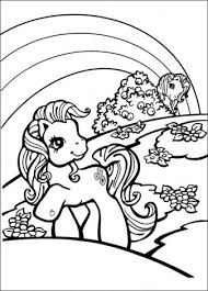 Ponys Kleurplaten