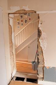 making a doorway in an internal wall