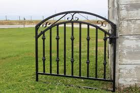 metal fence gate. Metal Delaware Fence Gate - 36w X 40 Front Entry Gates