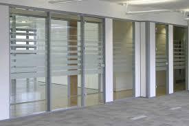 glass office divider