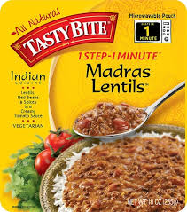 tasty bite indian cuisine 1 step 1 minute madras lentils 10 oz