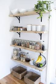 8 tips For Creating Successful Open Shelving (and a pantry) (via  @jenloveskev