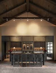 wine tasting room furniture. kenzo estate tasting room contemporaryhomebar wine furniture