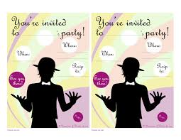 printable party invitations nº1 how to the printable party invitations