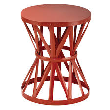 outdoor garden stool. Round Metal Garden Stool In Chalk-HD16023A - The Home Depot Outdoor N