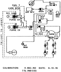 cal smog diagram needed for 460 ford truck enthusiasts forums 1975 Ford F100 Wiring Diagram smog diagram needed for 460 ford truck enthusiasts forums 1975 ford f100 ignition wiring diagram