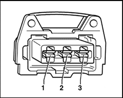 dodge ram truck dakota wd l fi sohc cyl repair guides identifying terminal locations on the camshaft position sensor connector 2 8l engines