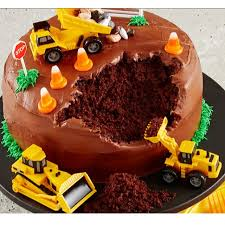Engineering Vehicle Idea Cake Topper 4pcs Pvc Toy Topper Kids Boy