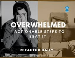 4 Steps to Stop Feeling Overwhelmed   Refactor Daily