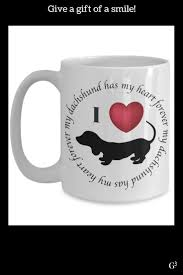 dog lover gifts dachshund has my heart themed gifts mug for women dachshund gifts funny mugs gifts for mom dachshund mom dog lov