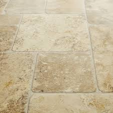 Sandstone Kitchen Floor Tiles Armstrong Luxury Vinyl Tile Lvt Beige Stone Look Diagonal