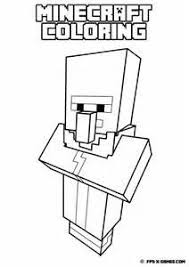 Small Picture Printable Minecraft coloring Sheep minecraft party Pinterest