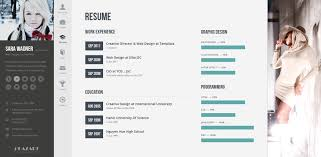 Wordpress Resume Template Resume Template