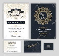 Vintage Wedding Invitation Vintage Wedding Invitation Mehndi Mandala Design Sets Include