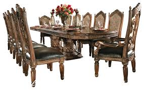 dining table sets. Brilliant 8 Piece Villa Valencia Dining Room Table Set With China On Sets