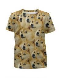 """<b>Детские футболки</b> c качественными принтами """"doge"""" - <b>Printio</b>"""