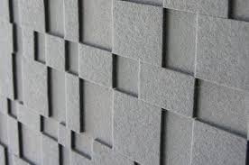 felt wall panels surface texture of aerial wall panel in monochrome gray wool felt over acoustic felt wall panels