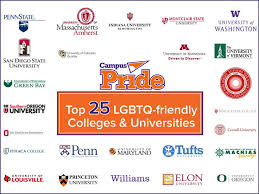 Most gay friendly college