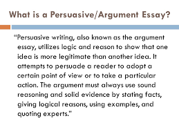 the argumentative essay mr wilson lmac english ppt what is a persuasive argument essay