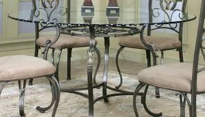 base table stowaway shape small pedestal and astonishing room dining chairs black round glass top for