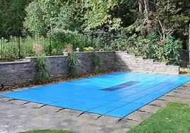 in ground pools rectangle. Unique Rectangle GLI 16u0027x36u0027 BLUE ProMesh Rectangle InGround Swimming Pool Winter Safety  Cover Inside In Ground Pools