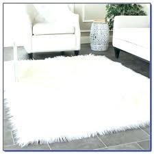 white rug white faux sheepskin rug faux fur rug white furry rug white rug