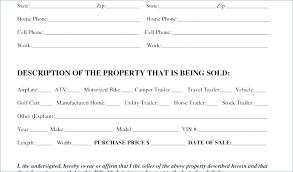 Simple Car Bill Of Sale Template Dealer Vehicle Bill Of Sale