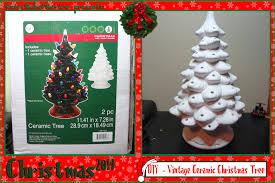 Light Up Tree  EtsyCeramic Tabletop Christmas Tree With Lights