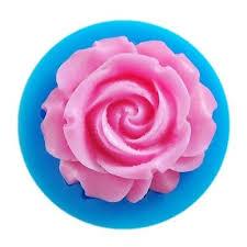 <b>3D big Rose Flower</b> Fondant Cake Chocolate Sugarcraft Mold ...
