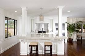 Led Recessed Light Spacing Kitchen With White Interior Design And Hardwood  Flooring Installation