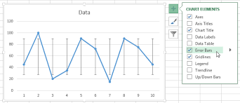 how to create graphs in excel add error bars standard deviations to excel graphs pryor