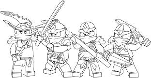 Artistic Coloring Pages 5 Paged For Children Lego Ninjago Lloyd