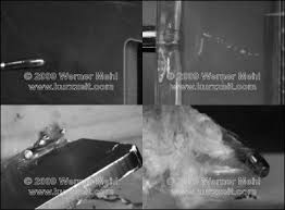 you 1 million fps slow motion video of bullet impacts made by werner mehl from kurzzeit
