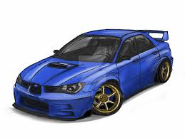 Quick Sketch - Subaru WRX STI 2006 Hawkeye by golferpat on DeviantArt