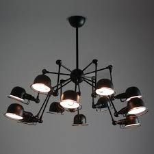 Designer lighting New York Kathy Kuo Home Architectural Spider Chandelier Beautifulhalocom